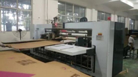 Semi-auto Double Piece Corrutated Paper Stitching Package Machine