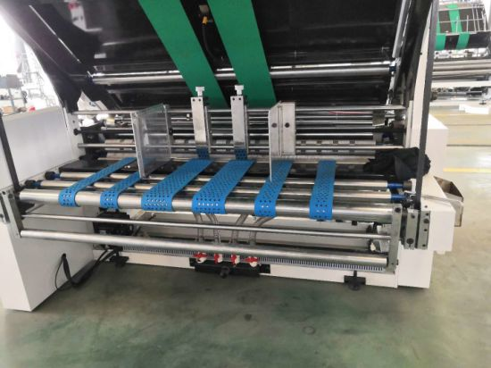 Semi Automatic Carton Paper Flute Laminating Corrugated Package Machine