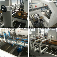 Automatic Corrugated Carton Box Folder Gluer Machine with Bottom Lock