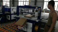 Automatic Corrugated Paper Box PP Blet Tying Bundling Wrapping Machine