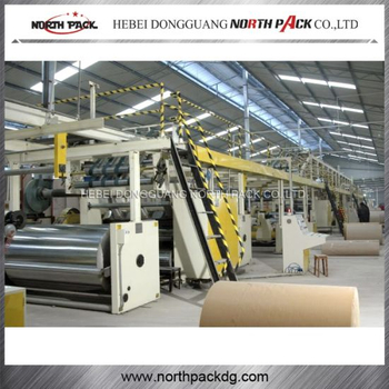 Automaitc Corrugated Paper Production Line