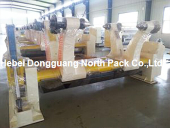 WJ1800-150 Three Layer Corrugated Cardboard Production Line