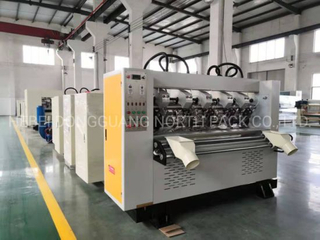 Corrugated Paper Thin Blade Slitting and Creasing Machine