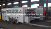 SYK semi-auto Corrugated Carton Printing Slotting Machine