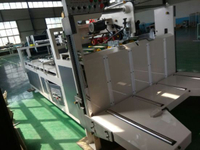 Semi-Auto Corrugated Carton Boxing Making Folder Gluer Machine