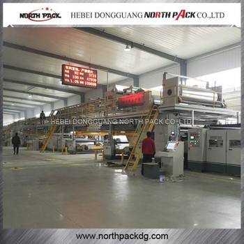 WJ seven-layer Corrugated Paperboard Production Line