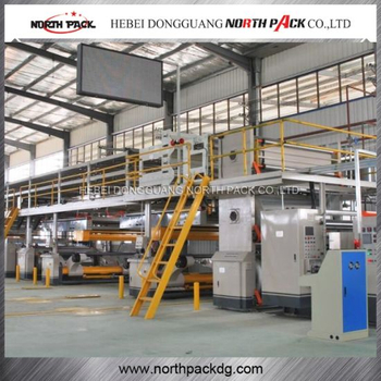 Corrugated Cardboard Production Line for Corrugated Carton Making Machine