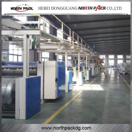 Corrugated Cardboard Production Line for Corrugated Carton